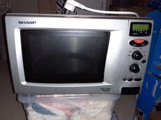 Microondas,marca sharp,doble grill(no funciona)