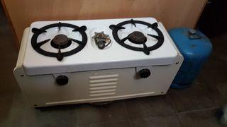 Cocina portatil de gas