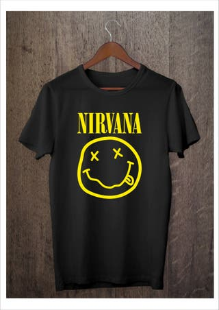 Camiseta logo Nirvana NUEVA