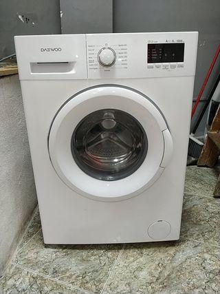 Lavadora Daewoo eco wash 6 kg