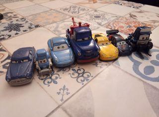 Lote 7 coches de cars