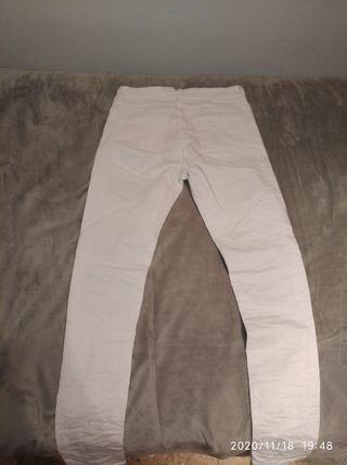 Jean blanco