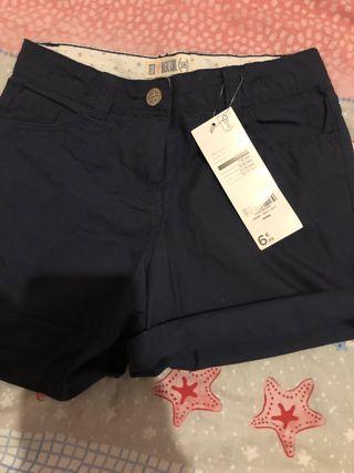 Pantalón corto Tex