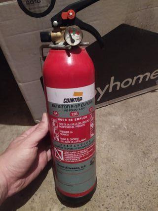 Extintor 1kg ideal Camper/autocaravana