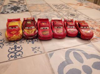 Lote 6 coches de cars