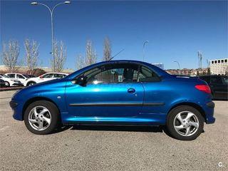 Peugeot azul 206 cabrio coupé automático