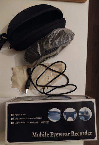 Gafas de sol con cámara oculta