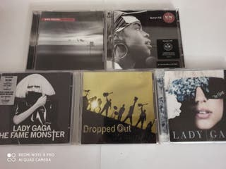 lote CD pop Gaga lauryn hill...