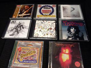 Lote 8 CDs rock/metal