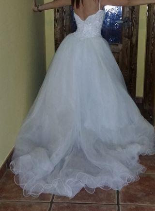 boda novia vestido demetrios