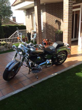 Se vende Harley Davidson Fat Boy 2008 muy poco uso