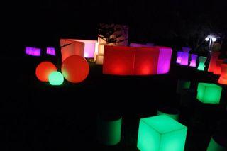 Mesas con iluminacion para bares y discotecas