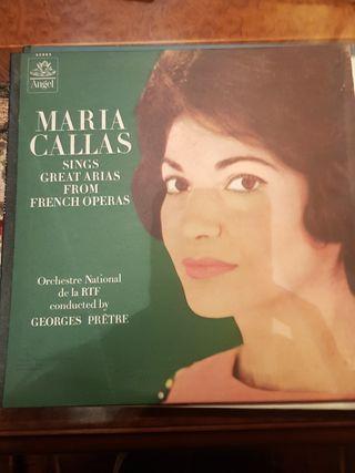 disco de vinilo María Callas