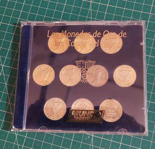 Monedas Conmemorativas F.c.Barcelona