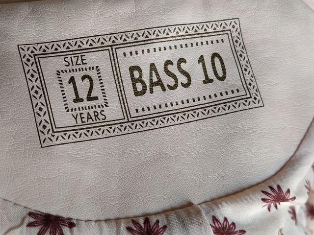 Cazadora biker niña nueva Bass10 12