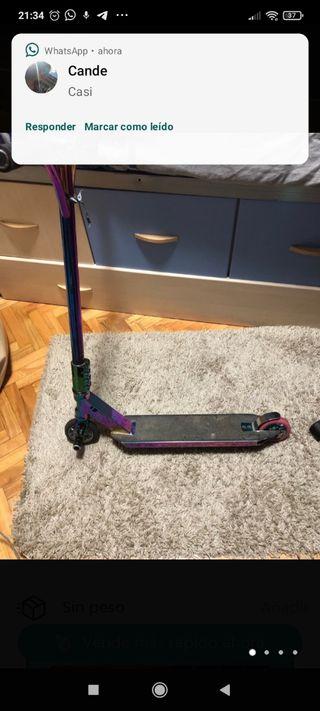 scooter Blitz color gasolina