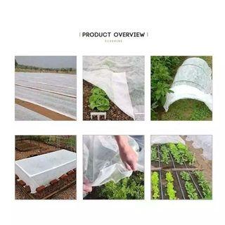 cubiertas reutilizables para plantas mantas