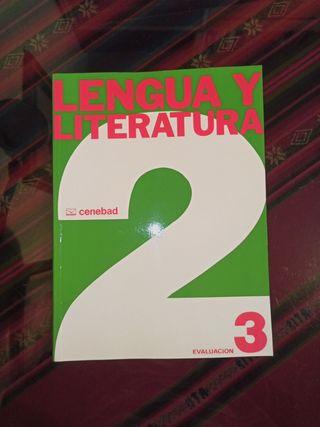 Libro Lengua y Literatura. Precio simbolico.