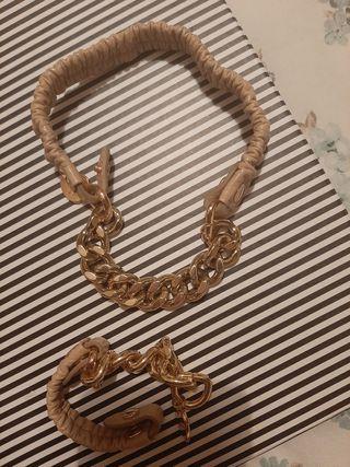 Collar y pulsera de Bimba Y Lola