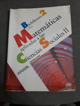 Libro Matematicas aplicadas a las ciencia sociales