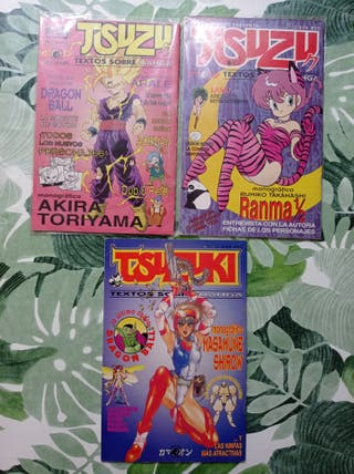 Revistas Tsuzu Manga y Anime