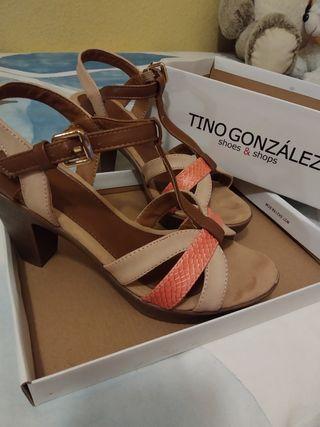 Sandalia Tacón Tino González