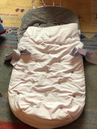 Saco silla + saco de cuna