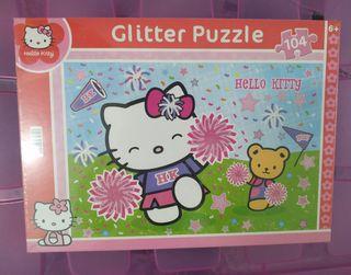 Puzzle Glitter Hello Kitty nuevo