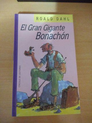 libro El gran gigante bonachon