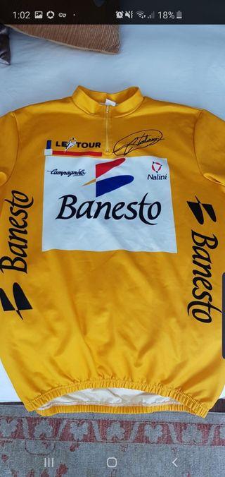 Maillot amarillo Miguel Indurain