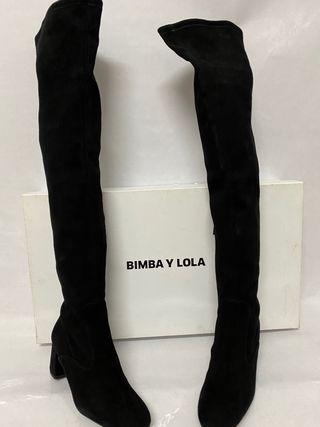Botas altas Bimba y Lola