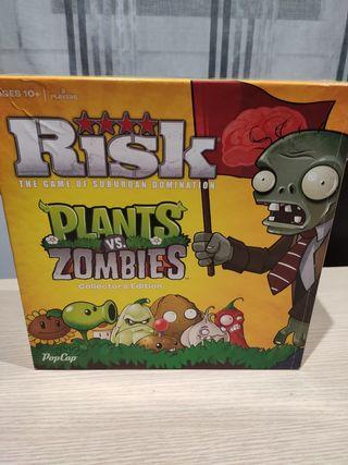 Risk de plantas va zombies