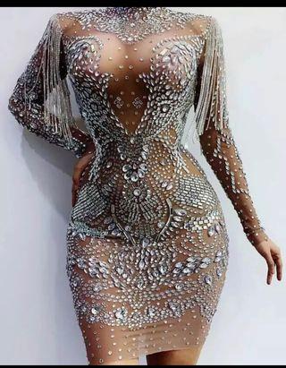 Vestido de fiesta boda gitana
