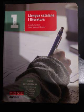 lengua catalana y literatura bachillerato 1