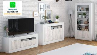 Conjunto Muebles Salon Mueble de TV, Aparador y Li
