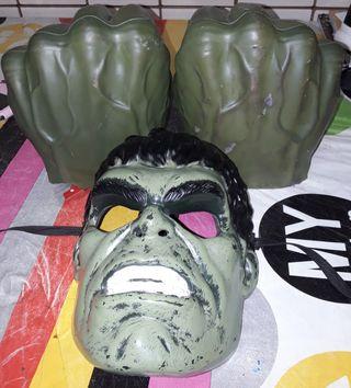 Rebajado Cara y puños de Hulk