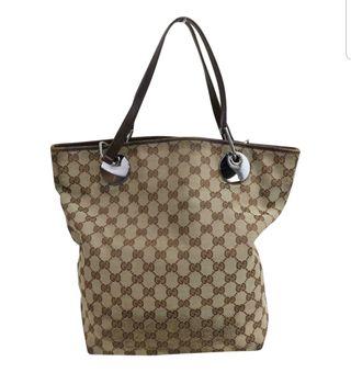 bolso lona Gucci bien cuidado