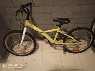 Bicicleta B'Twin (niños/as)