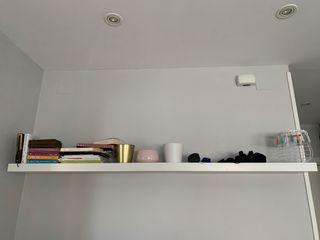 Estante de pared LACK ikea blanco