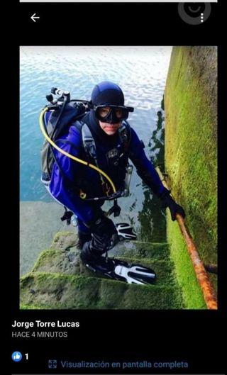 traje seco buceo submarinismo