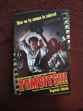 Zombies!!! juego de mesa nuevo