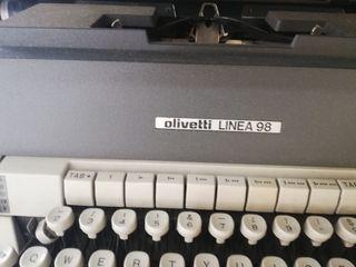 maquina olivetti linea 98