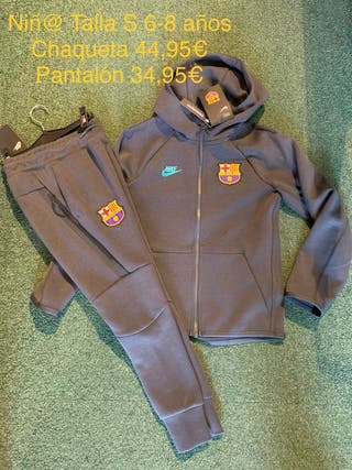 Chaqueta y pantalón nike FC Barcelona