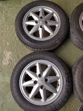 Llantas y neumáticos Renault kangoo