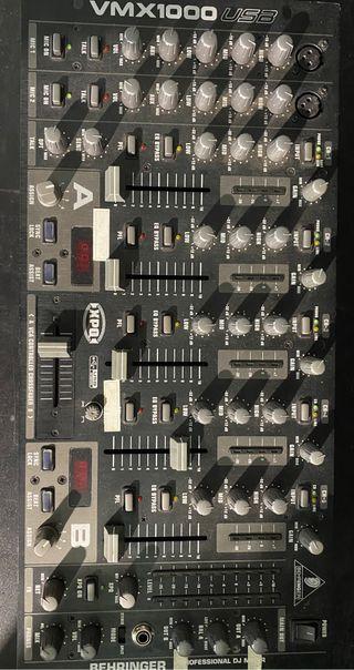 BEHRINGER VMX 1000 USB mesa de mezclas