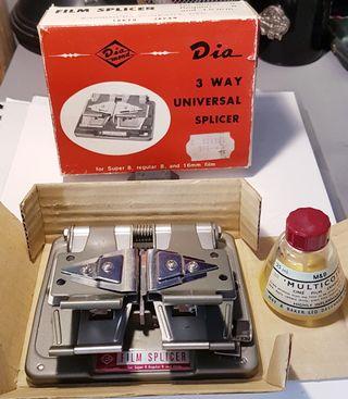 Empalmador película universal Super8, 8 mm, 16mm