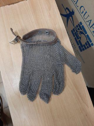 guantes de seguridad de carnicero ,pescadero
