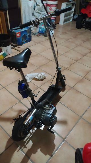 patinete gasolina motor minimoto