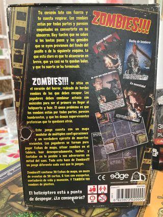 Juego de mesa: Zombies