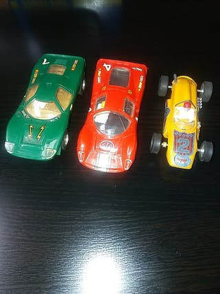lote coches triang scalextric